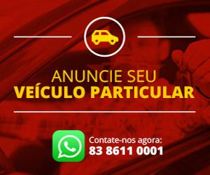 Anuncie seu veículo particular - Whatsapp 83 8611 0001